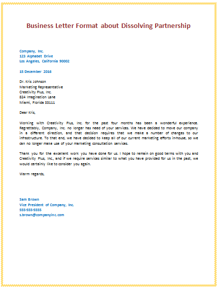 Letter template business expinmberpro letter template business stopboris Images