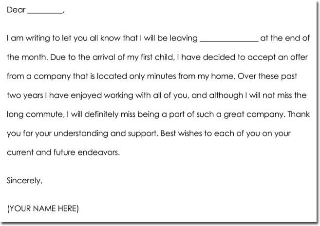 Employee Farewell Thank You Letter Samples