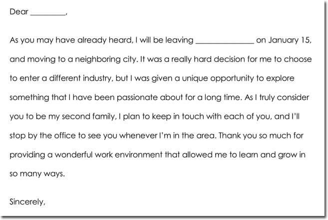 Employee Farewell Thank You Note Wording Ideas