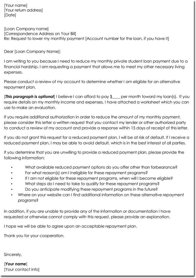 Request Loan Approval Letter Templates