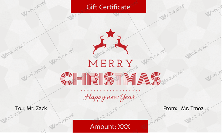 100 ms word gift certificate template official gift certificate 20 awesome christmas gift certificate templates to end 2017 yadclub Choice Image