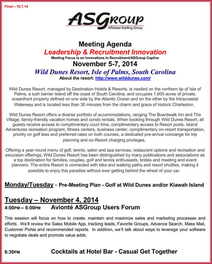 print free client meeting agenda template