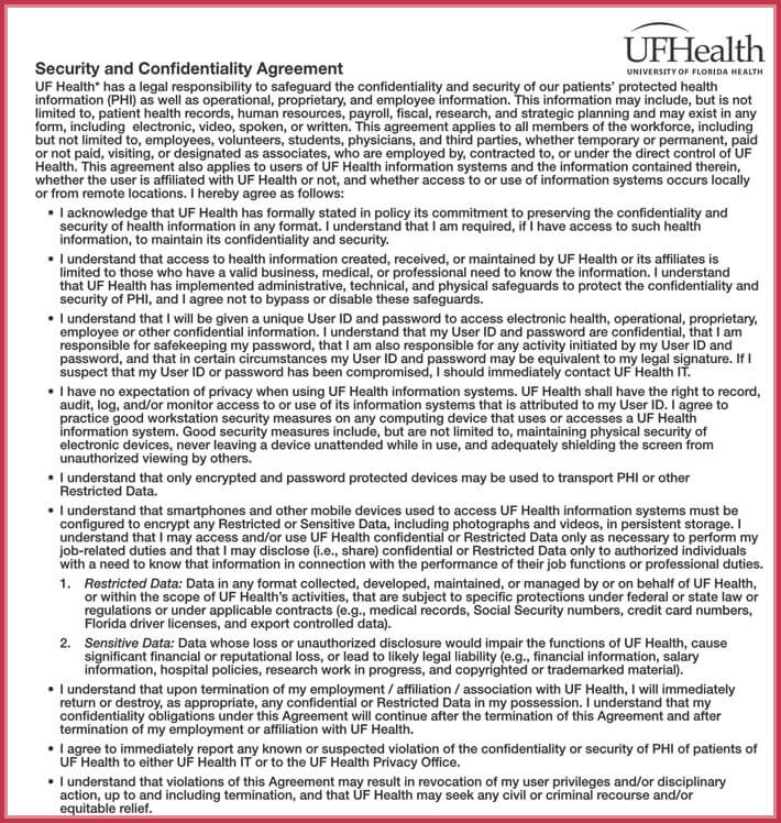 free download confidentiality agreement forms