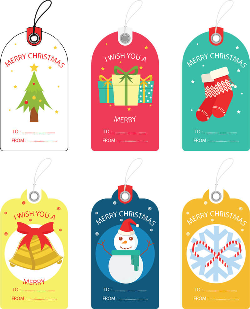 Free christmas gift tag templates editable printable personalized gift tag template for christmas negle Image collections