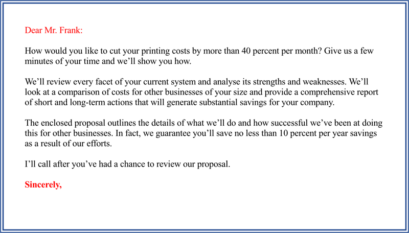 printable business proposal letter - 40 What Is The Proper Format For A Business Letter Practical