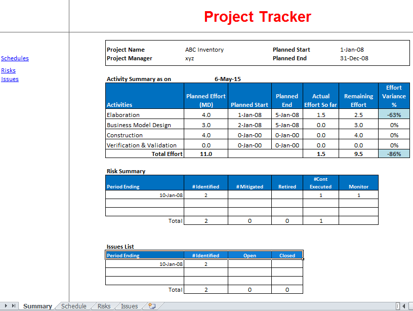 Timesheet Template For Excel