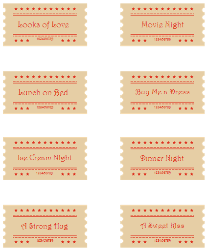Free Printable Gift Coupon Template Coupons for Everyone – Blank Coupons Templates