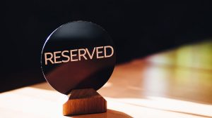 place reserved