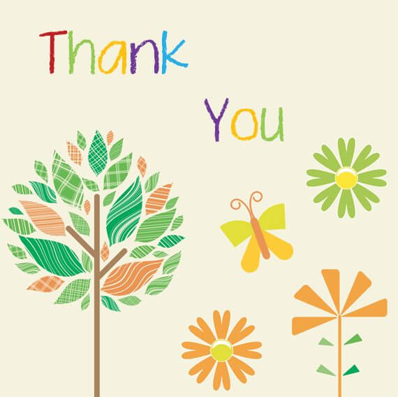 Thank You Word Template from www.doctemplates.net