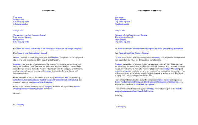 Complaint Letter Templates  Samples In Word  Pdf Format