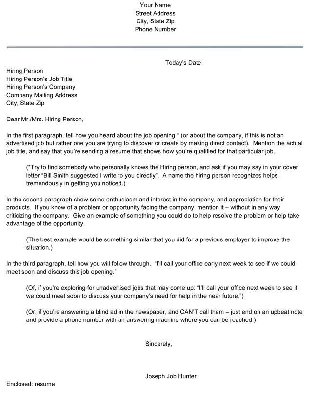 Resume-Cover-Letter-Template Sample Application Letter As A Teacher on