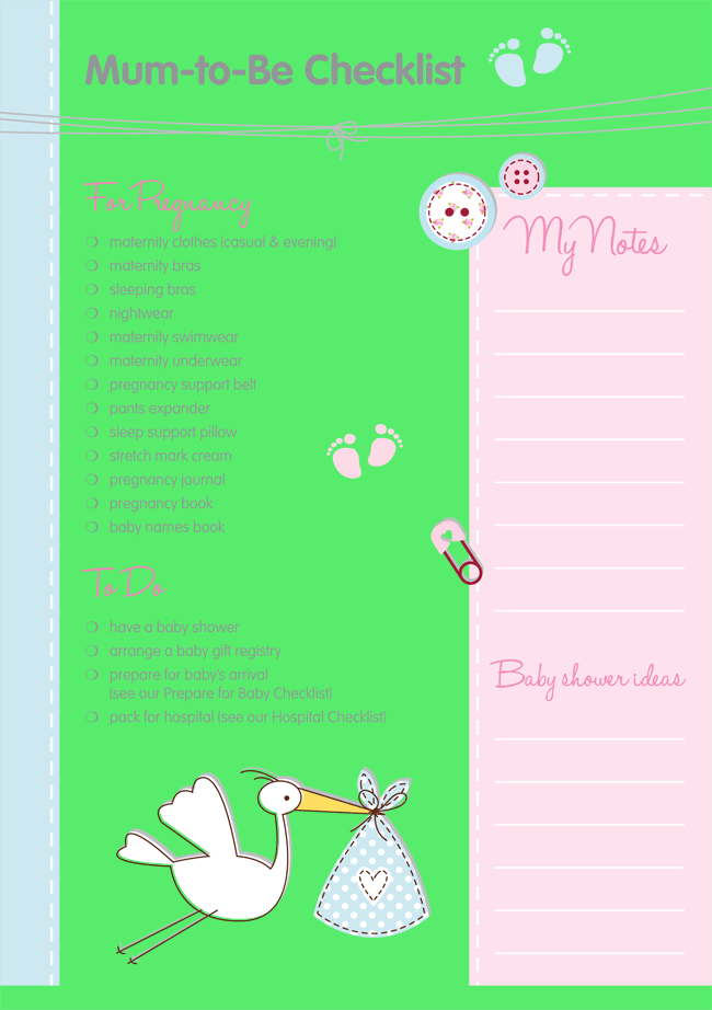 newborn essentials checklist pdf