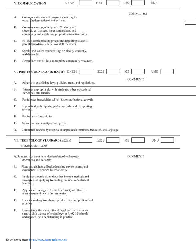 6 Relationship Evaluation Form Samples Free Sample Example