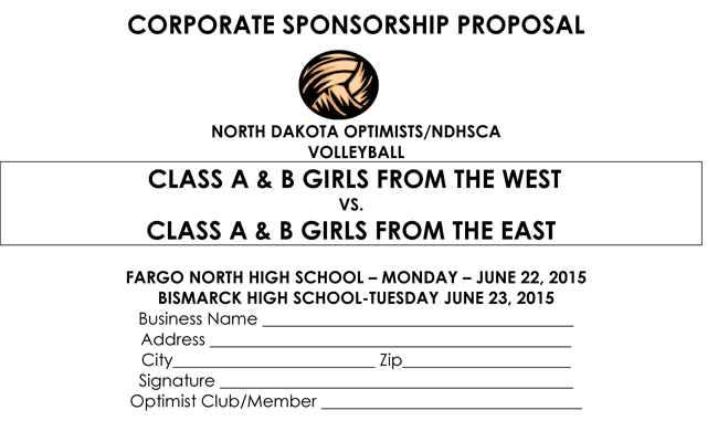 Corporate Sponsorship Proposal Templates