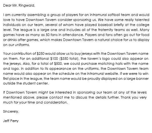 Sponsorship letter samples write best sponsorship letters athletic sponsorship letter samples spiritdancerdesigns Choice Image