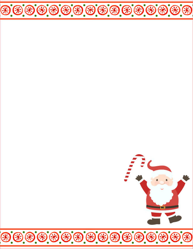Letter to Santa Templates for Kids