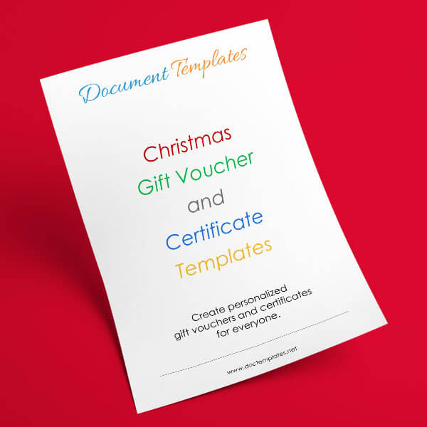 30+ Christmas Gift Certificate and Voucher Templates for Everyone