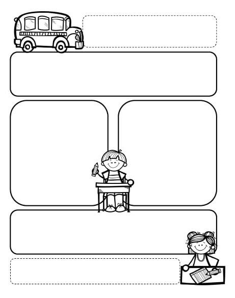 Drawing-Preschool-Newsletter-Template