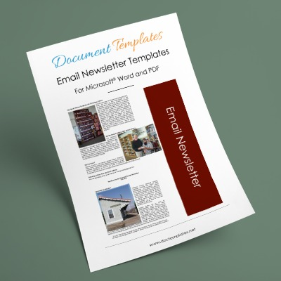 Free and Premium Email Newsletter Templates to Create Professional Newsletters for Any Business
