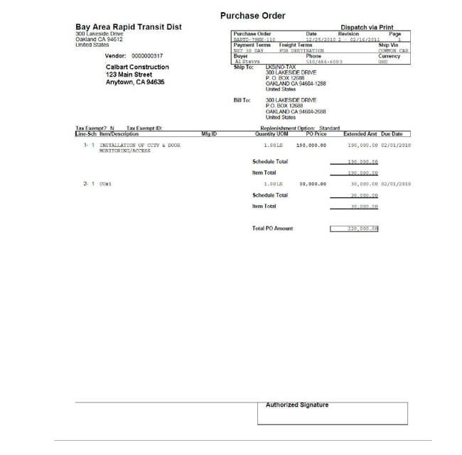 Free Construction Invoice Template 02