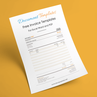 32+ Free Invoice Templates for Excel, Word and PDF – Suitable for Any Business