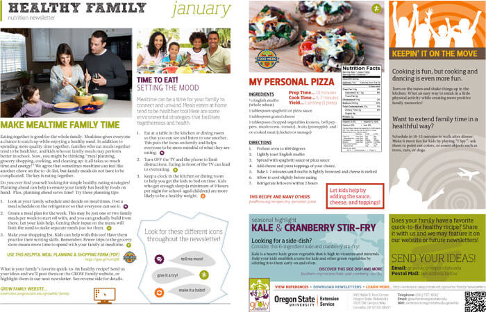 Printable Family Newsletter Templates for Word