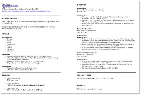 Financial Accountant Resume Templates With Guide To Write Good One