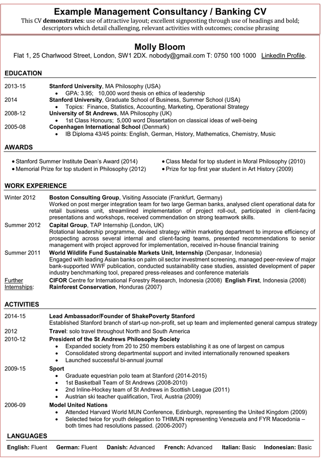 Financial-Accountant-Resume-banking example