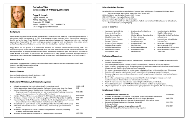 Free Printable 5 Samples Of Insurance Resume Templates And