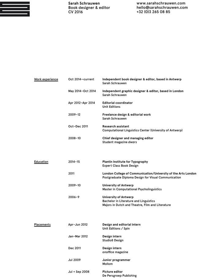 resume examples for editor and content creator