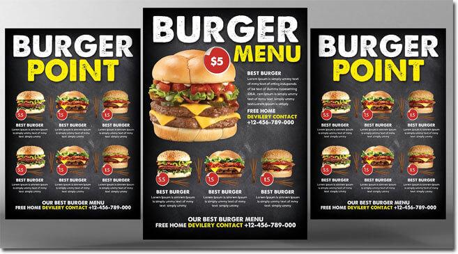 Burger Menu Style Design