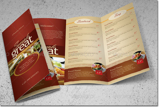 PSD-menu-template-American-Style