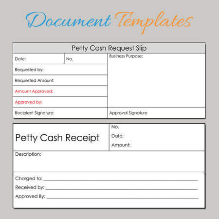 Petty Cash Receipt Templates - 6 Formats for Word