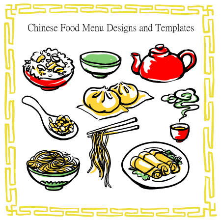 12 best chinese food restaurant menu templates. Black Bedroom Furniture Sets. Home Design Ideas