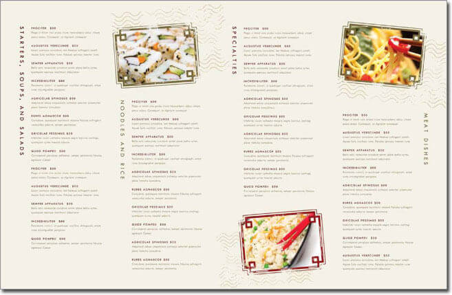 Asian restaurant menu template trattorialeondoro chinese food menu food menu design chinese food forumfinder Images