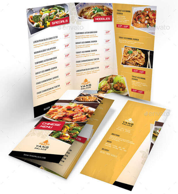 Chinese-Restaurant-Trifold-Menu