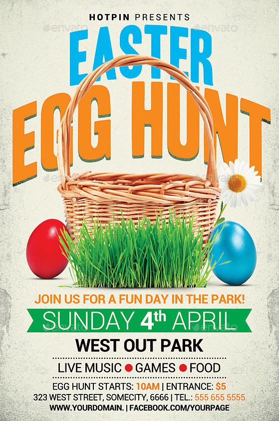 Easter-Party-Flyer-Templates-with-Menu