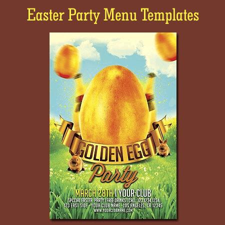 Easter Menu Templates