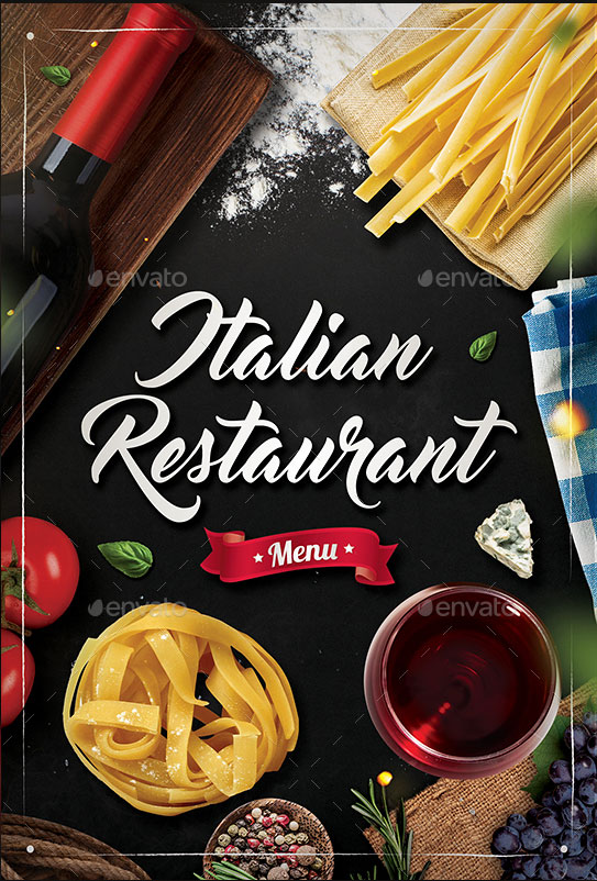 Italian-Restaurant-Menu-Flyer-Download