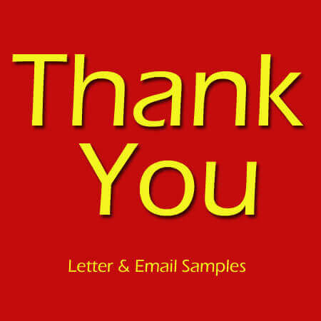 Job Interview Thank You Letter Templates