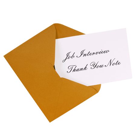 8+ Job Interview Thank You Notes