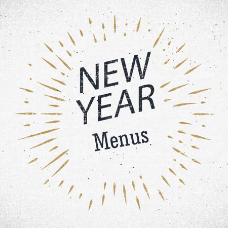 New Year Menu Templates