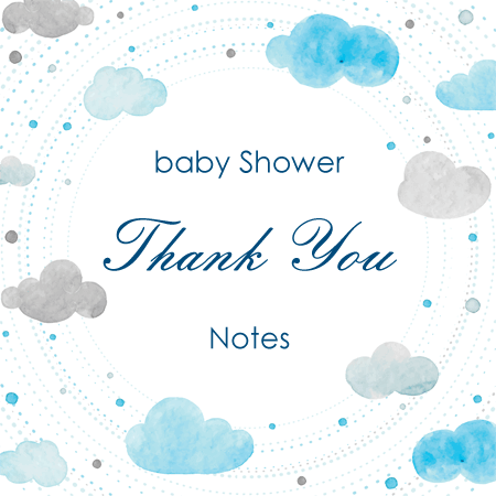 Sample Baby Shower Thank You Notes