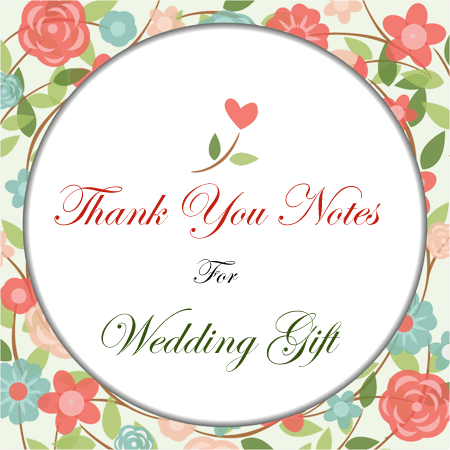 12+ Wedding Gift Thank You Note Templates