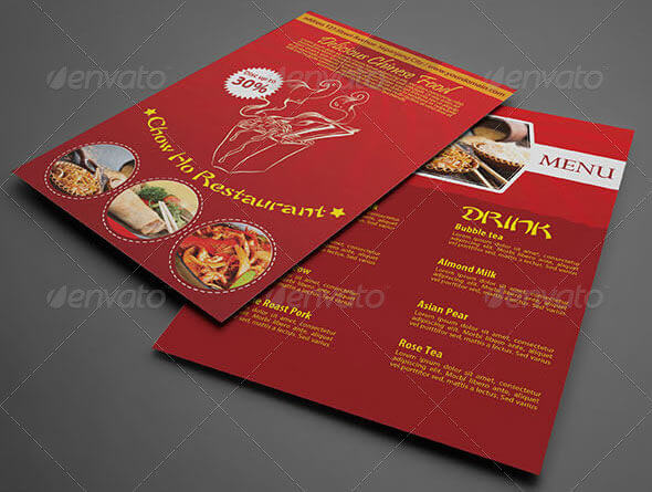 free editable restaurant menu templates