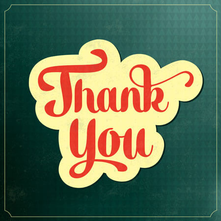 Money/Cash Gift Thank You Note Templates