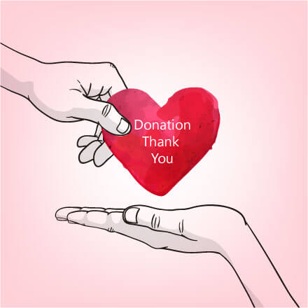 Donation Thank You Note Samples, Formats & Wording Ideas