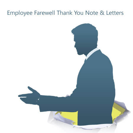Employee Farewell Thank You Note Samples