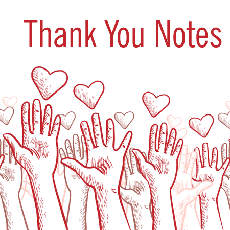 7 Volunteer Thank You Note Templates Amp Wording Ideas