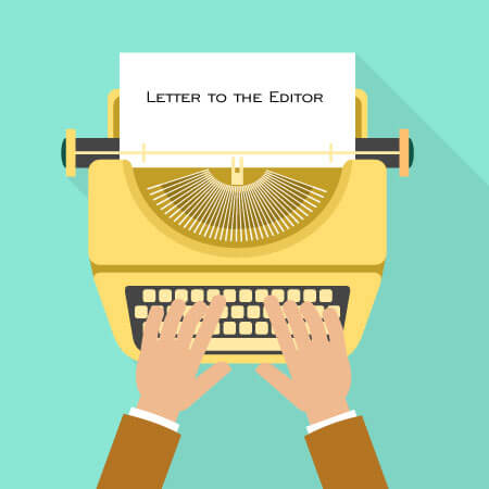 Free Letter tho the Editor Samples
